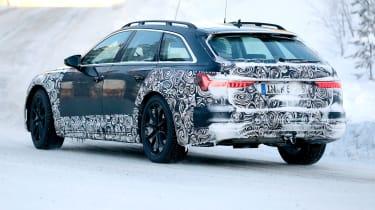 Audi A6 Allroad 2019 spied - rear
