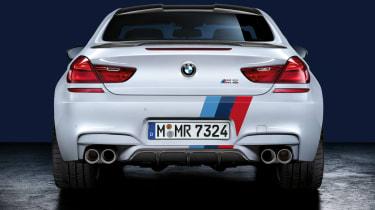 BMW M6 rear diffuser