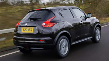 Driven: Nissan Juke Shiro 1.5 dCi rear