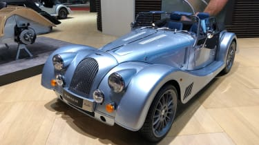 Morgan Plus-Six - front quarter
