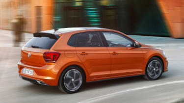 2017 Volkswagen Polo - R-Line rear 3