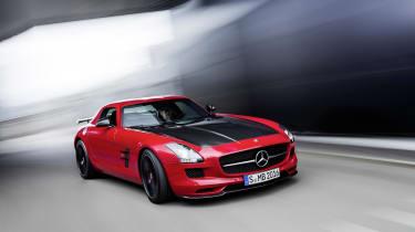 Mercedes SLS AMG GT Final Edition gullwing