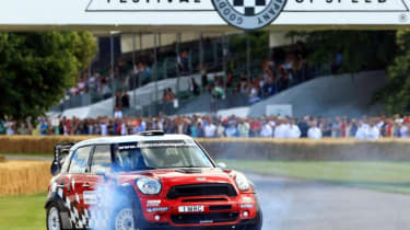 Goodwood FoS: Mini Countryman WRC video