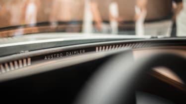 Austro Daimler Bergmeister ADR 630 Shooting Grand interior detail
