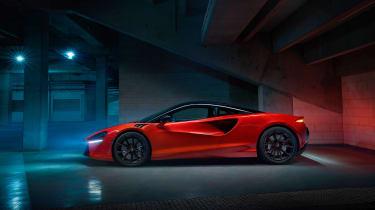 McLaren Artura revealed - orange side