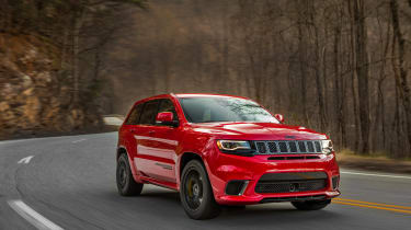 Jeep Grand Cherokee Trackhawk - driving 2