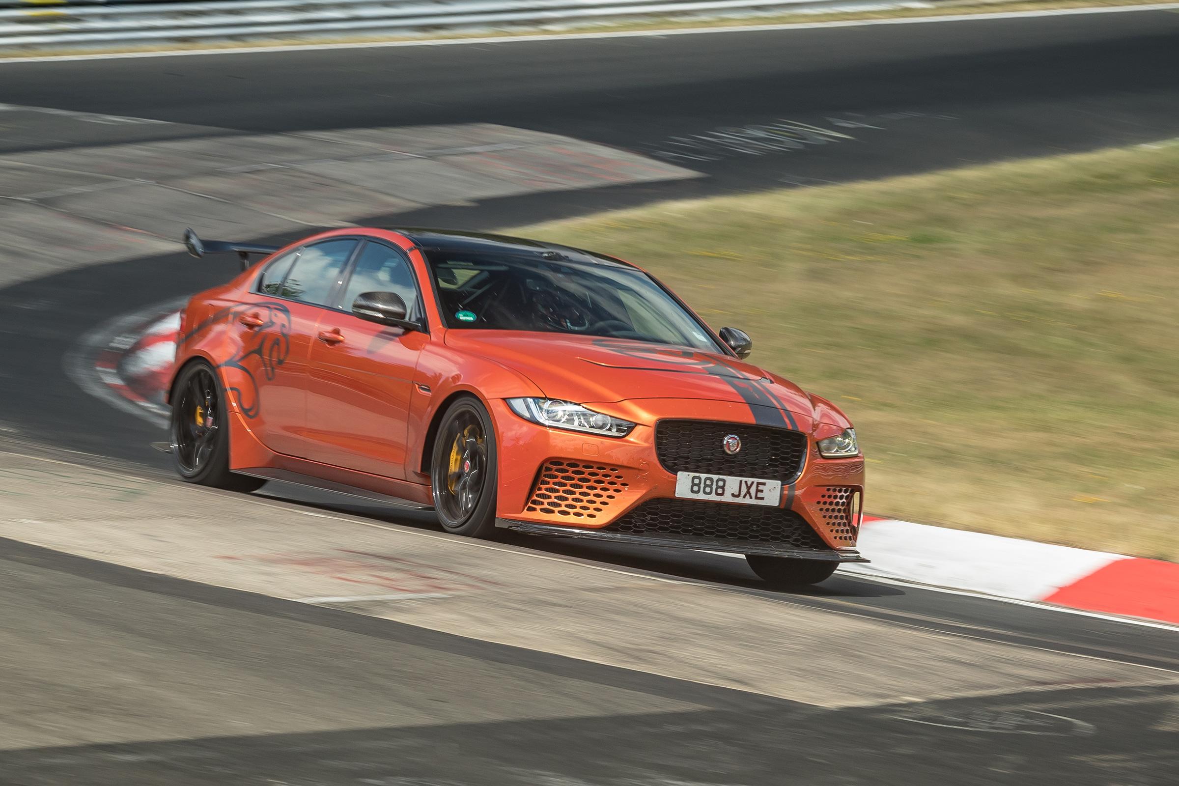 Audi Tt For Sale >> Jaguar XE SV Project 8 breaks Nurburgring record, again | Evo