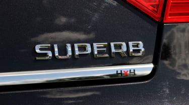 Skoda Superb V6 Laurin & Klement tailgate badge