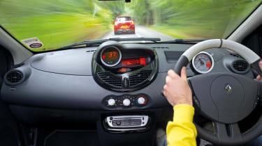 2012 Renaultsport Twingo 133 interior dashboard