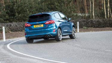 2018 Ford Fiesta ST –rear