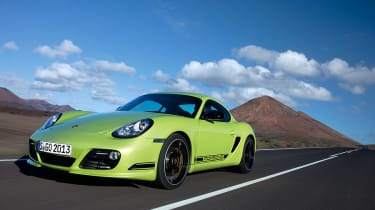 New Porsche Cayman R review