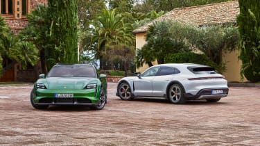 Porsche Taycan Cross Turismo - range