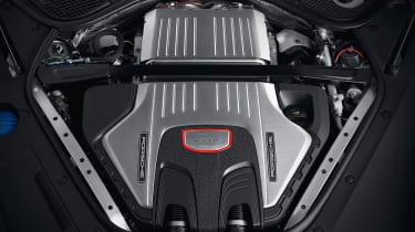 2018 Porsche Panamera GTS engine