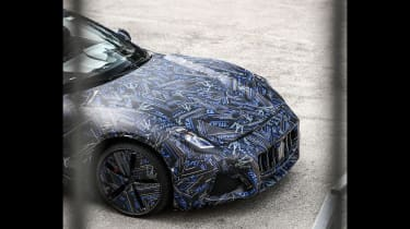 2021 Maserati GranTurismo spy – front