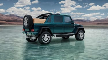 Mercedes-Maybach G650 Landaulet - rear three quarter