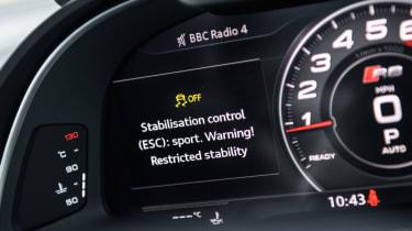 Audi R8 V10 RWS - Virtual Cockpit