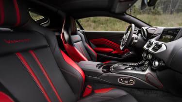 Aston Martin Vantage - silver static interior