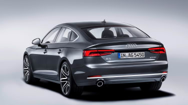 Audi A5 Sportback g-tron rear three-quarters
