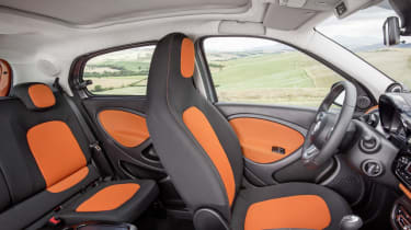New Smart Forfour interior
