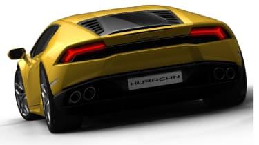 Lamborghini Huracan LP610-4 rear view