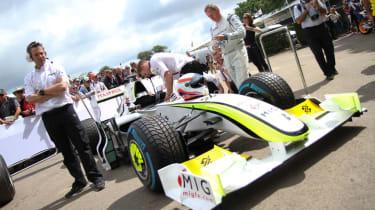 Brawn F1 car