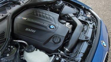 2012 BMW M135i 3-litre turbo engine
