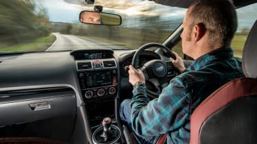 Subaru WRX Final Edition – cabin