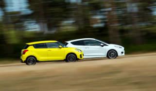 Ford Fiesta ST-line vs Suzuki Swift Sport