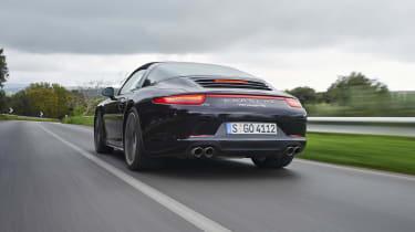Porsche 911 Targa 991 evo feature
