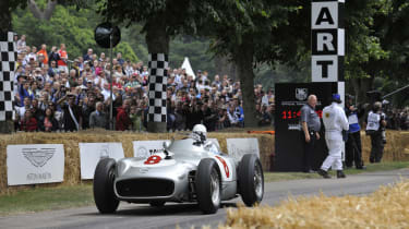 British F1's greatest moments - Silver arrow Goodwood