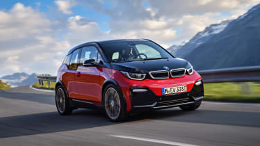 BMW i3s - driving front