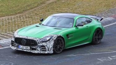 Mercedes-AMG GT R spy 2018 - side
