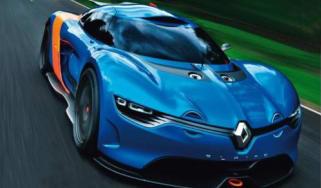 Renault Alpine A110-50 concept leaks