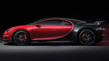 Bugatti Chiron Sport –side
