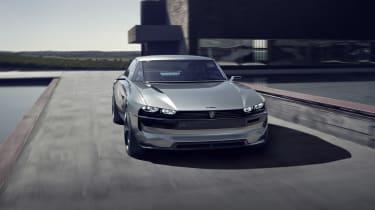 Peugeot e-Legend concept - front