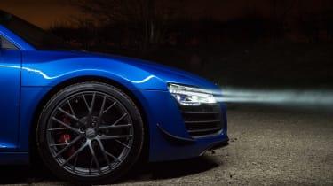 Audi R8 LMX night drive - front