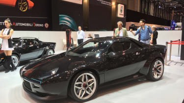 MAT Lancia Stratos front Geneva motor show
