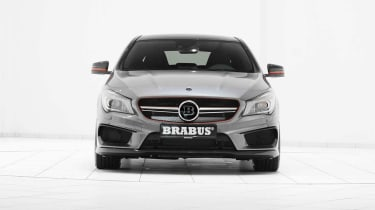 Brabus-tuned Mercedes CLA 45 AMG front
