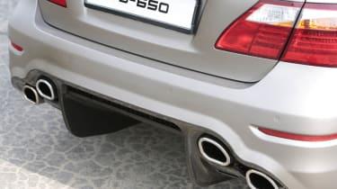 Lexus TMG TS-650 rear quad exhaust pipes