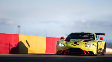 2018 Aston Martin Vantage GTE – front