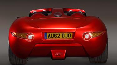 Trident Iceni sports car rear