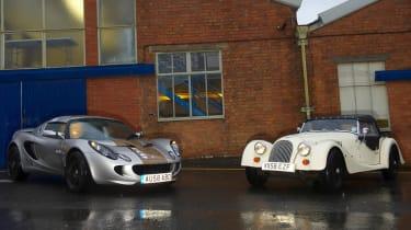 Lotus Eco Elise and Morgan 4/4