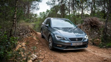 SEAT Leon X-perience front off-road