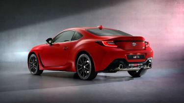 2022 Toyota GR86 - rear studio