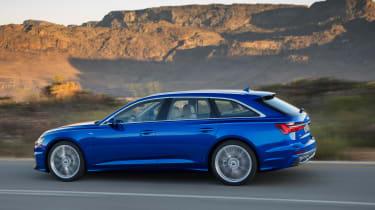 Audi A6 Avant launch - side