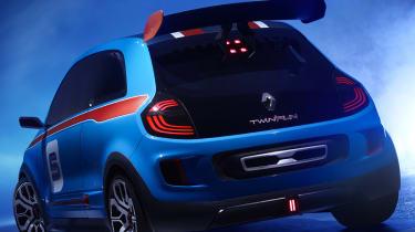 Renault TwinRun V6 hot hatch concept rear