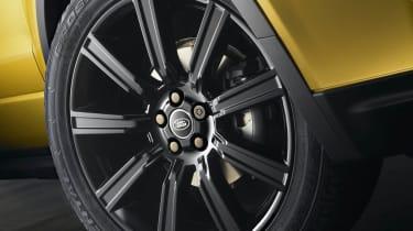 Range Rover Evoque Sicilian Yellow Limited Edition alloy wheel