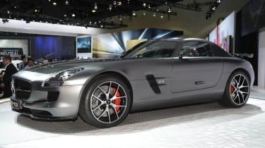 Mercedes SLS AMG GT Final Edition grey