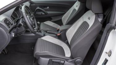 VW Scirocco R sports seats
