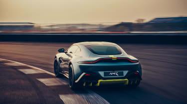 Aston Martin Vantage AMR revealed - rear